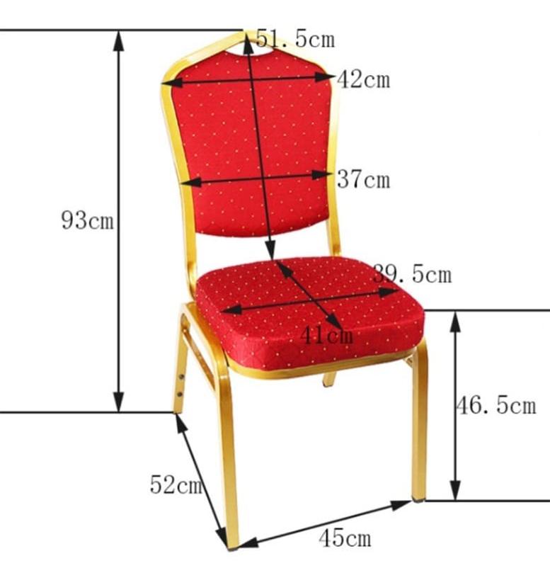 Această imagine conține toate dimensiunile scaunului Rokelin COD: A46 – 2